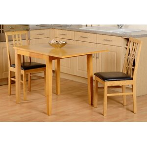 kyle folding dining set with 2 chairs - 2 Seater Dining Table