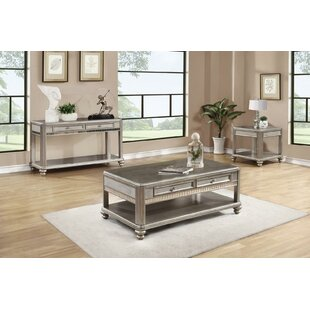 Tristin 3 Piece Coffee Table Set