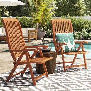 Sun Flair Folding Garden Chair (Set Of 2) By Indoba®