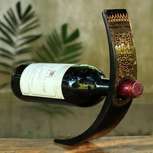1 Bottle Tabletop Wine Rack by Novica
