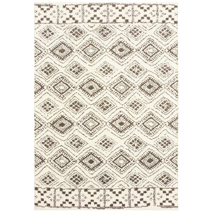 Lowes Casual Ivory Area Rug