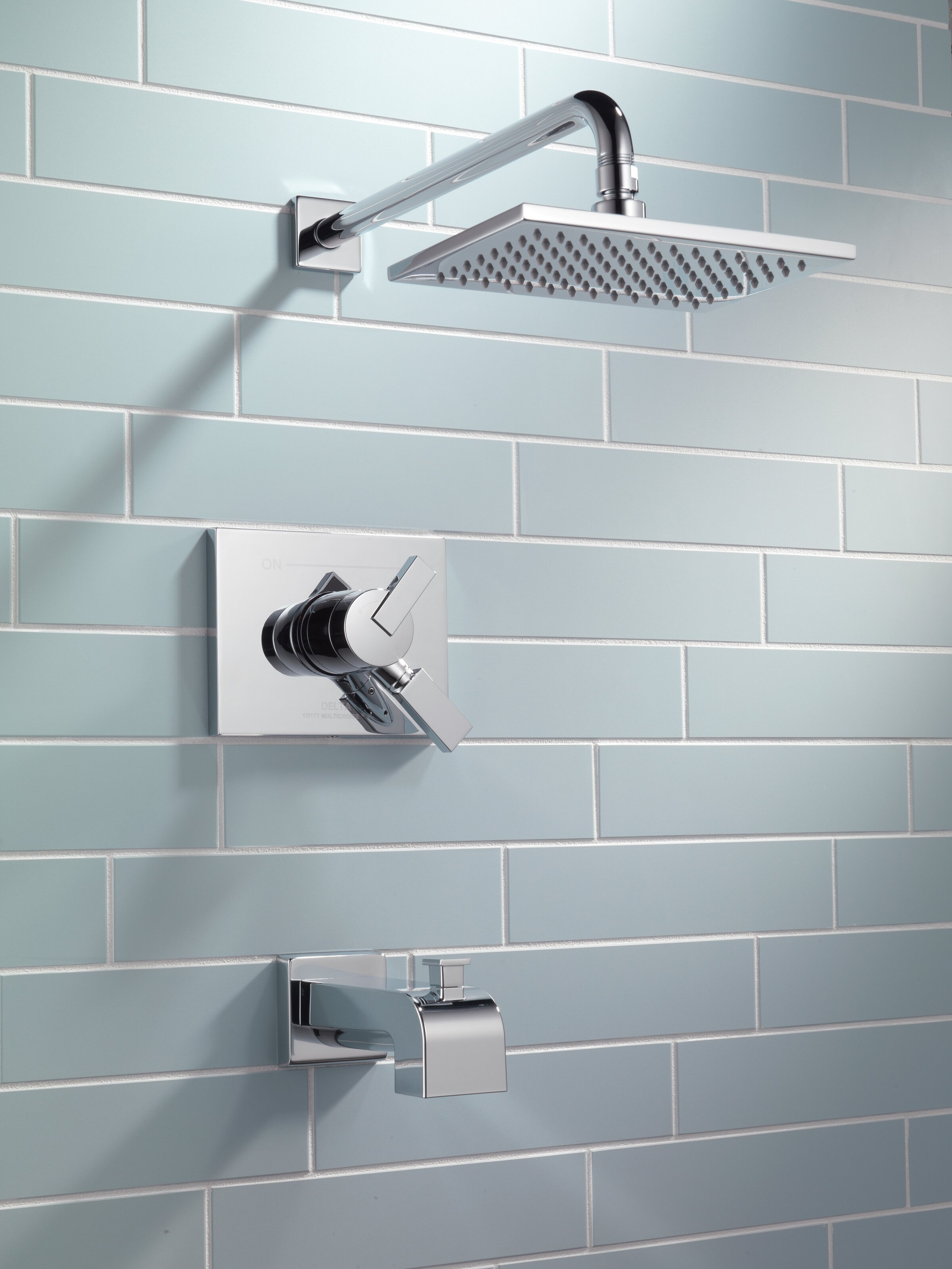 Delta Vero Volume Control Tub and Shower Faucet Trim with Lever ...