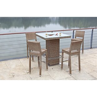 4 Seater Bar Height Dining Set By Kampen Living