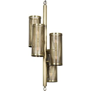 Noir 8-Light Sputnik Chandelier