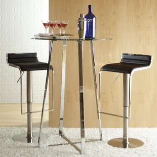 Bannerdown 3 Piece Pub Table Set