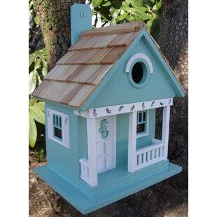 Home Bazaar Birds of a Feather 9.5 in x 8 in x 8 in Birdhouse