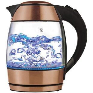1.8 Qt. Infuser Glass Cordless Electric Tea Kettle