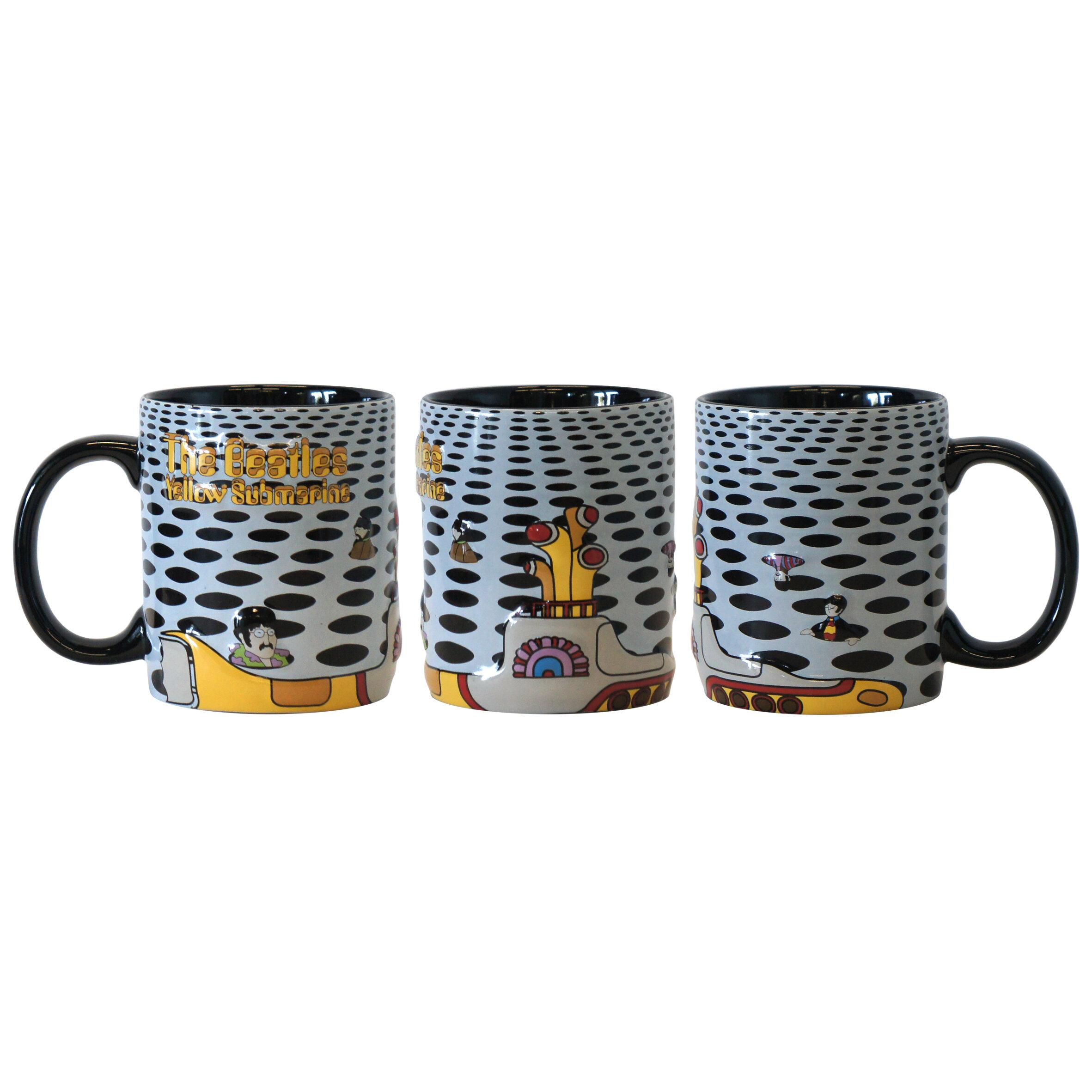 Boelter Brands Beatles Yellow Submarine Holes Sublimated Mug Wayfair