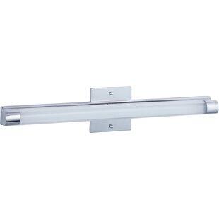 Latitude Run Caladendra LED 1-Light Bath Bar