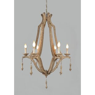 Ophelia & Co. Ochlocknee 6-Light Chandelier