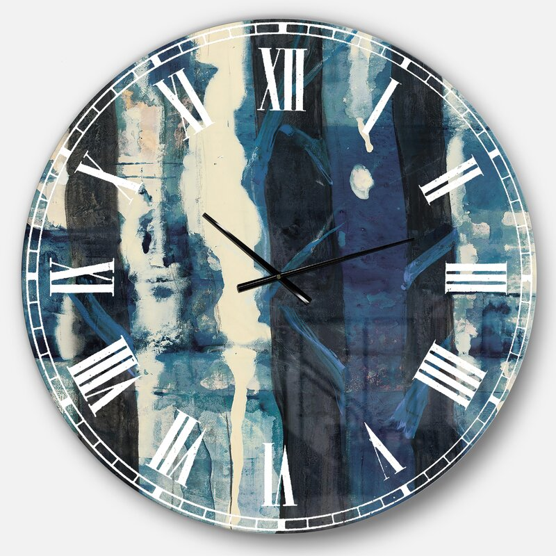 Breakwater Bay Wall Clock Reviews Wayfair