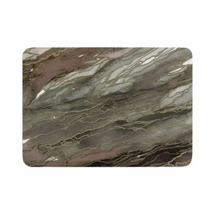 Ebi Emporium Agate Magic, Elegance 1 Watercolor Memory Foam Bath Rug