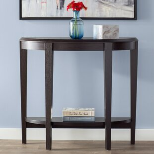 Clearance Blakeway Half Moon Console Table By Andover Mills