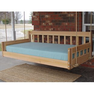Lomita Hanging Daybed Rope Porch Swing