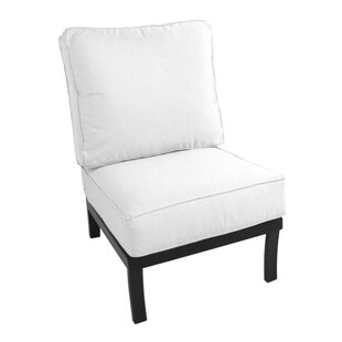 Maddux Armless Chair with Cushion