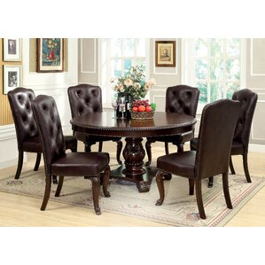 7 Piece Round Kitchen Dining Room Sets Youll Love Wayfair