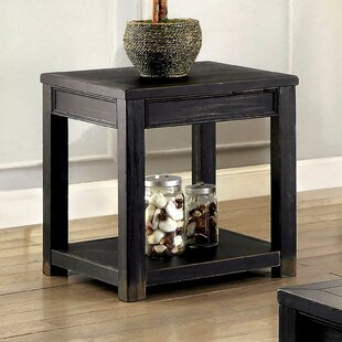 Pond End Table by Charlton Home