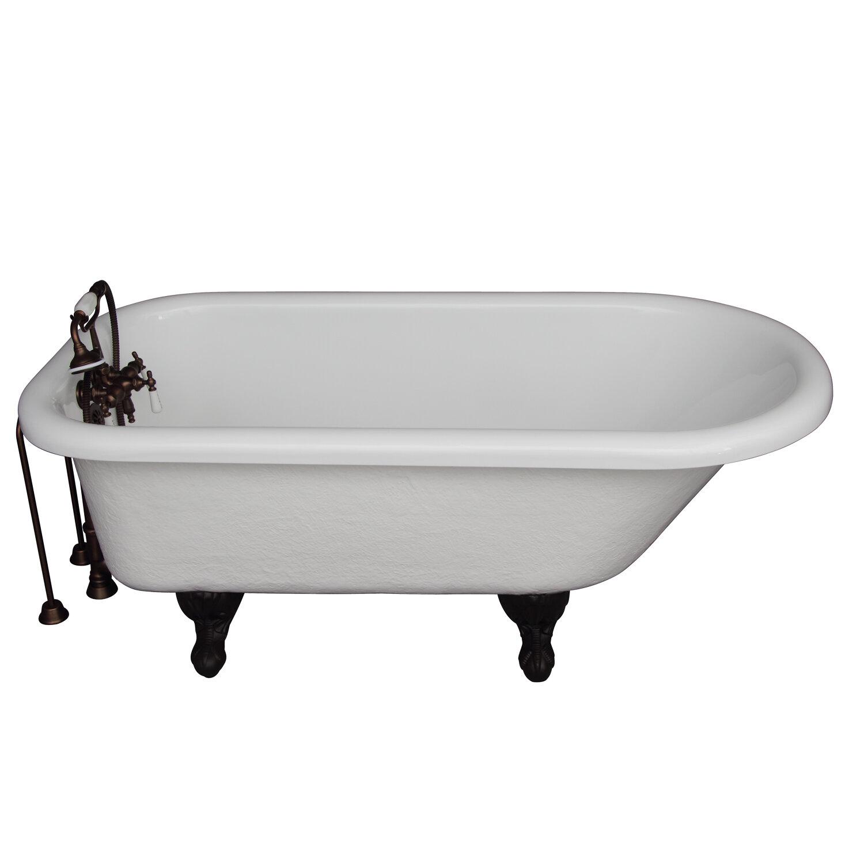Barclay 60 X 30 Clawfoot Soaking Bathtub Wayfair