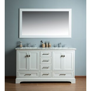 Find for Stian 60 Double Sink Bathroom Vanity Set By Willa Arlo Interiors