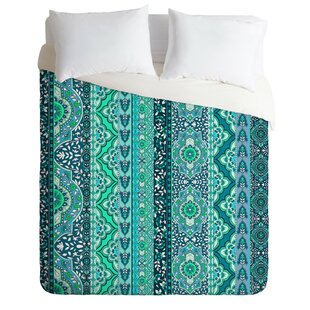 Bungalow Rose Jade Stripe Duvet Cover Set