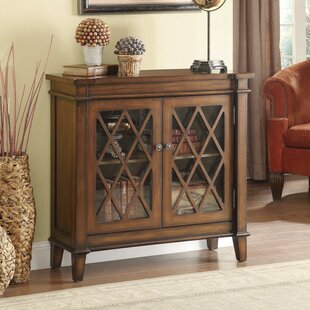 Charlton Home Ritter Fine Looking 2 Door Accent Cabinet