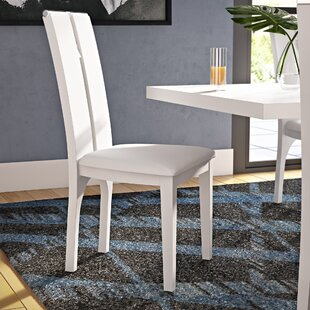Covina Upholstered Dining Chair (Set of 2) Latitude Run
