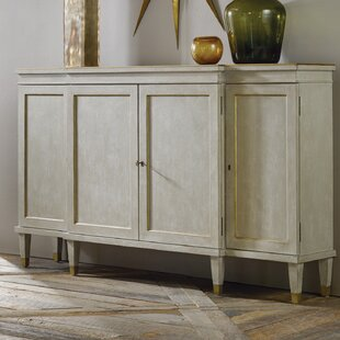 Gustavian Breakfront 3 Door Accent Cabinet by Modern History Home