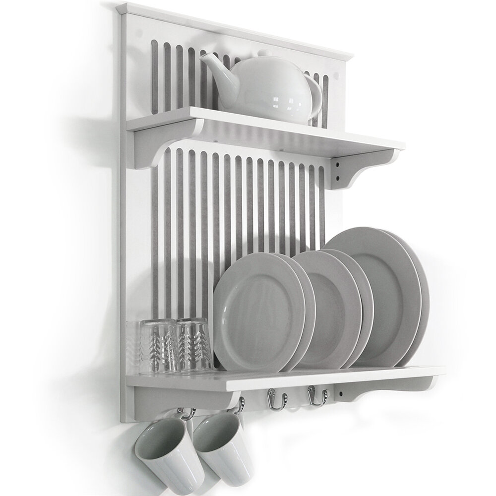 House Additions Kitchen Plate Dryer / Display / Towel Rack & Reviews ...