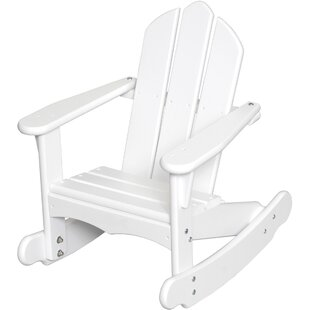 Little Colorado Bailey Youth Wood Rocking Adirondack Chair