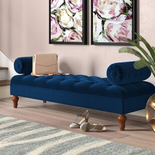 Tito Bolstered Upholstered Bench by Willa Arlo Interiors