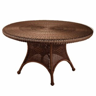 Classic Wicker/Rattan Dining Table by Summer Classics