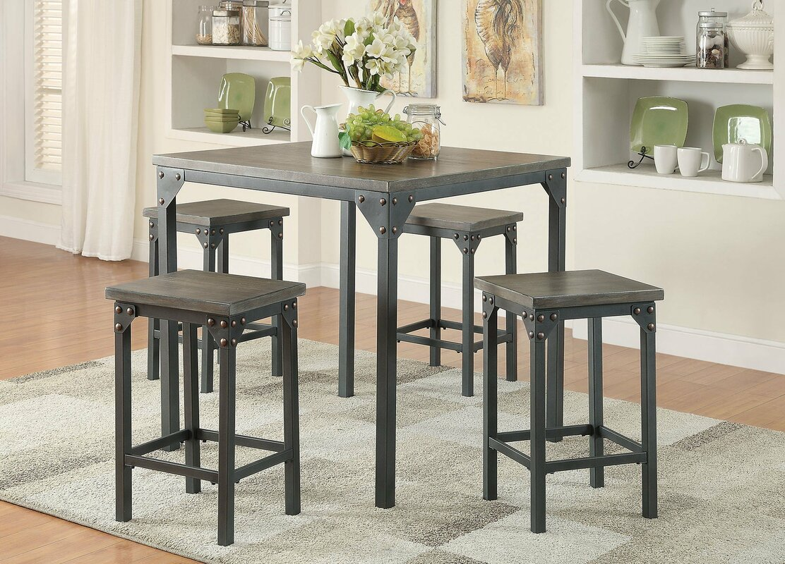 infini furnishings  piece counter height dining set  reviews  -   piece kitchen  dining room sets sku ifin sale defaultname