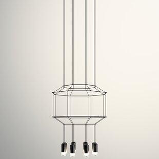 Vibia Wireflow 3D Octagon 8-Light Pendant