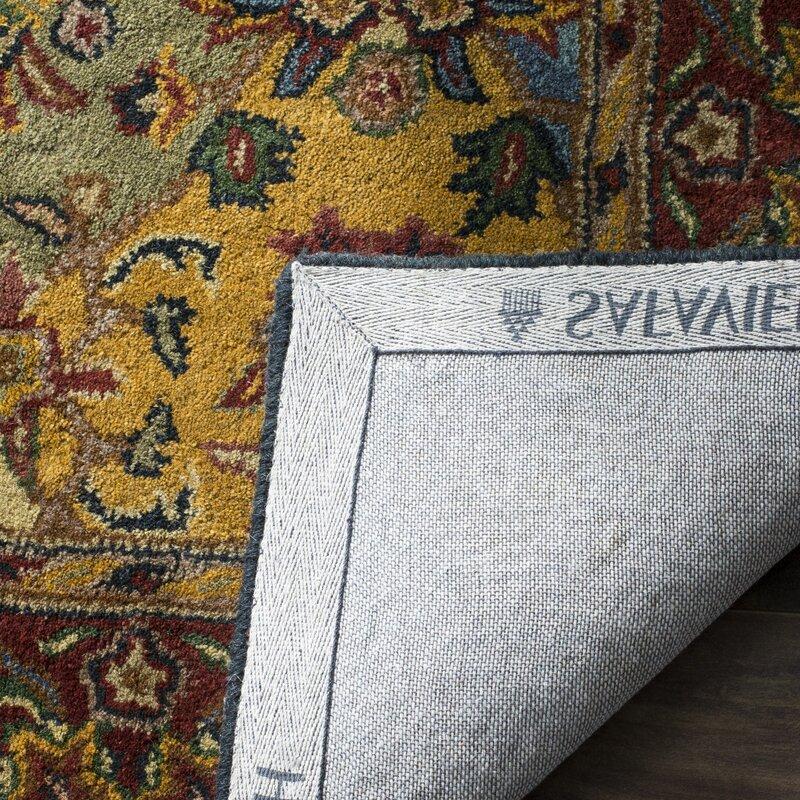 Balthrop Wool Hand Tufted Area Rug
