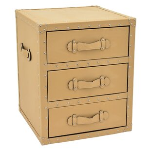 Best Vilonia 3 Drawer Accent Chest ByWilliston Forge