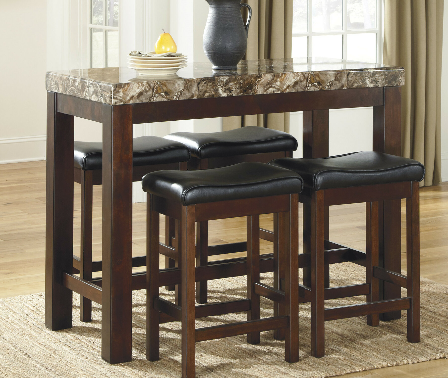 Red Barrel Studio Chadron Counter Height Dining Table Reviews Wayfair