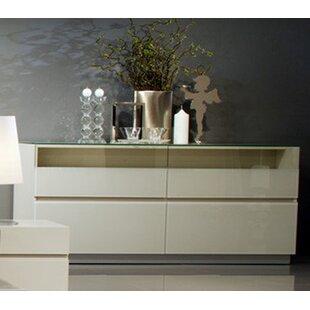 Argo Furniture Vittoria 4 Drawer Dresser