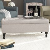 Higginbotham Tufted Storage Ottoman by Darby Home Co