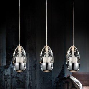 Look for Bagley 3-Light Mini Pendant By Orren Ellis