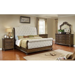 Blackshear Sleigh 5 Piece Bedroom Set