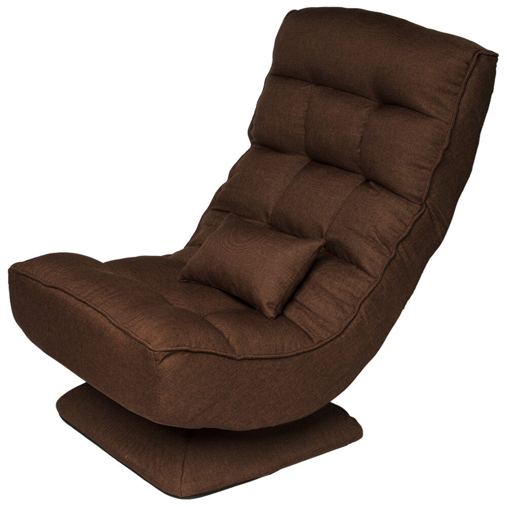 Trule Folding Gaming Chair 360 Degree Swivel Floor Chairs With