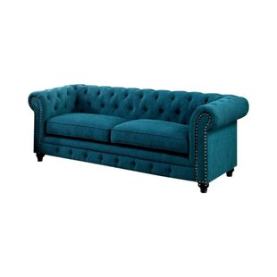 Brylee Chesterfield Sofa by Everly Quinn Wonderful