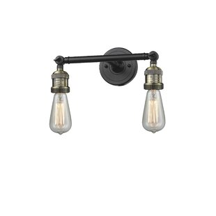 Dotson Fixture 2-Light Vanity Light By Williston Forge