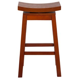 Lomonaco 30 Swivel Bar Stool Winston Porter