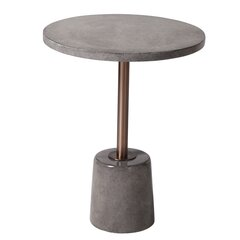 Block Round End Side Tables You Ll Love In 2021 Wayfair