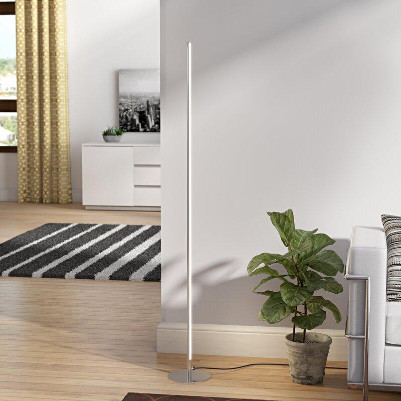 Orren Ellis Tregenna 60 Led Floor Lamp