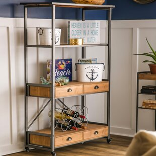 Dovenby Foldable Etagere Bookcase by Gracie Oaks Cool