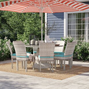 Falmouth 9 Piece Dining Set with Cushions