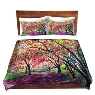 DiaNoche Designs Lazy Afternoon Central Park Duvet Set