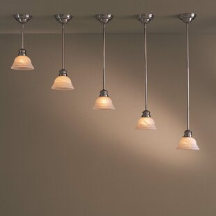 1-Light Cone Pendant by Minka Lavery